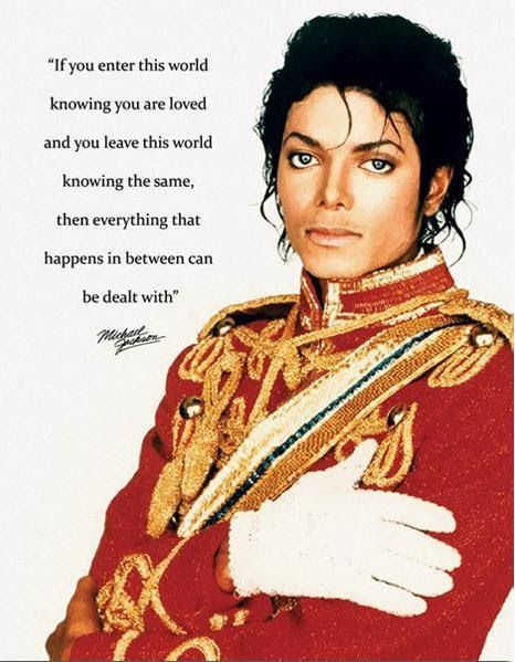 i dont even like michael jackson..but this quote>>>