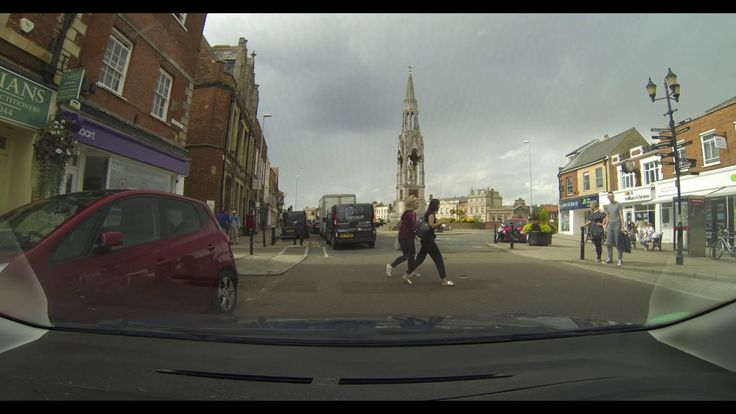 Driving through Cambridgeshire, England. Wisbech Town Centre a Video Tour of the Historic Town in Cambridgeshire