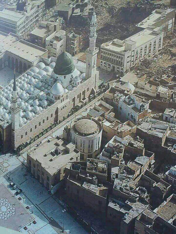 المسجد النبوي و المكتبة