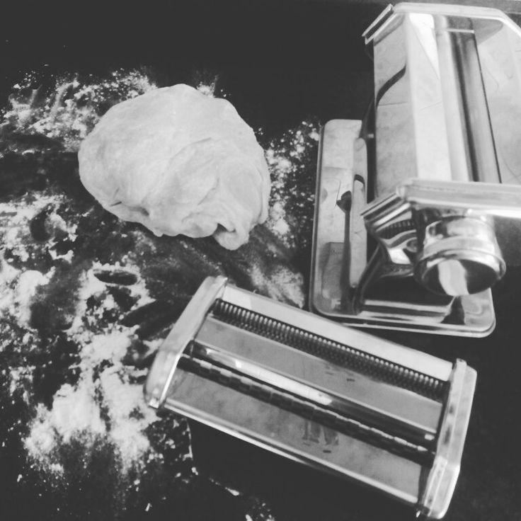 Haciendo pasta fresca