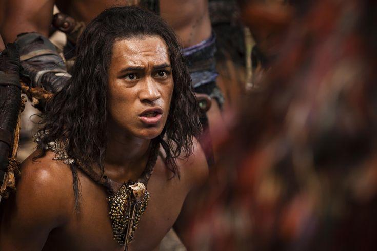 James Rolleston as Hongi in The Dead Lands Movie. #DeadlandsMovie #Hautoa http://www.pinterest.com/bradwalker/