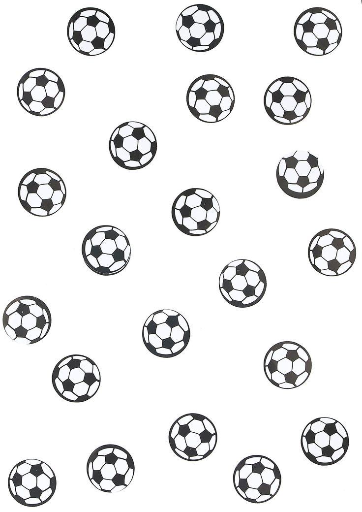 150 coriandoli per la tavola con pallone da calcio su VegaooParty, negozio di articoli per feste. Scopri il maggior catalogo di addobbi e decorazioni per feste del web,  sempre al miglior prezzo!