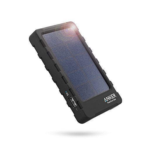 [Solar Charger] Anker PowerCore Solar Portable Charger, High-Efficiency Solar Power Bank for Travel or Emergency, Integrated Bright 4 X LED Flashlight - http://pay-monthly-phones-on-02.co.uk/product/solar-charger-anker-powercore-solar-portable-charger-high-efficiency-solar-power-bank-for-travel-or-emergency-integrated-bright-4-x-led-flashlight/