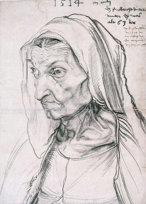 Барбара Дюрер, мать художника. Альбрехт Дюрер