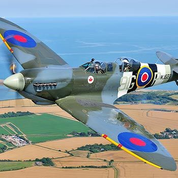 Two Seater Spitfire Flight & Heritage Hangar Tour