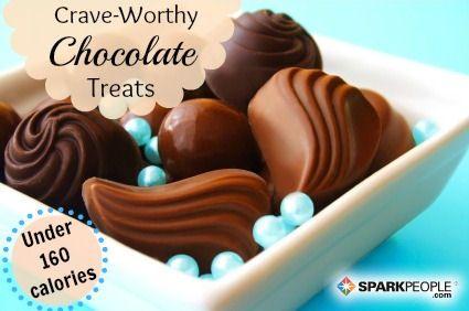 27 Sensible Ways to Satisfy Your Chocolate Cravings via @SparkPeople