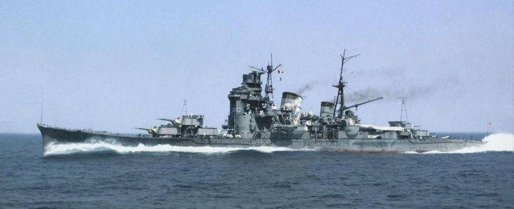 重巡洋艦「妙高」 同型艦「那智」『足利」「羽黒」