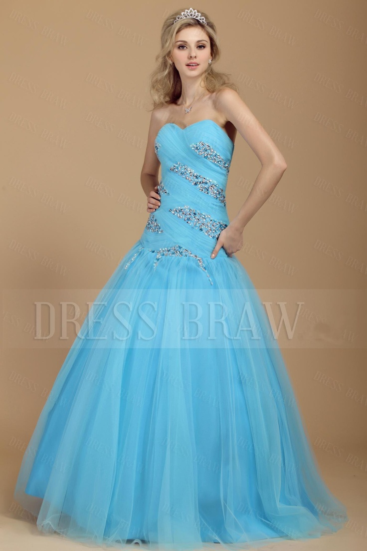 Grad Dresses Light Blue 35