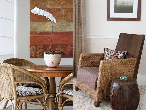 Decoração sala casa cadeira poltrona onça