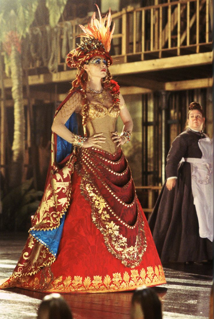 I do not like how they portrayed Carlotta in the film. If she was the leading soprano, she would be amazing. They tried to make her comical.