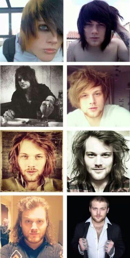 The evolution of Danny Worsnop