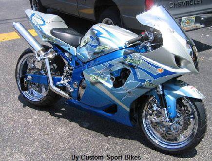 custom sports bikes