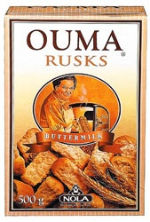 Yummy memories from South Africa Ouma Rusks - Buttermilk