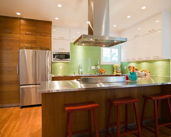 44 best mid century modern ranch interior images on for Ranch galley kitchen remodel