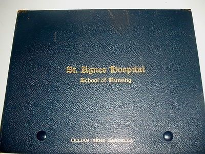 1929 SAINT AGNES HOSPITAL NURSING SCHOOL PHILA PA DIPLOMA VINELAND NJ (02/12/2012) Lillian Gardella 1929