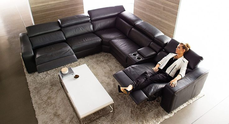 Rio recliner modular lounge nick scali home for Suite modulare