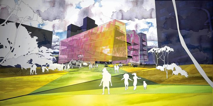 Johanna Kanerud, architecture portfolio: Honorable mention for LUDICITY in Louisville Children's museum competition(for presentation)