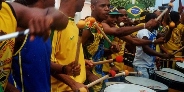 Brazil drummers for Rio De Janeiro Carnival Experience with G'Adventures