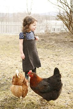 Country Kids - Farm Chicks, Black, Brown
