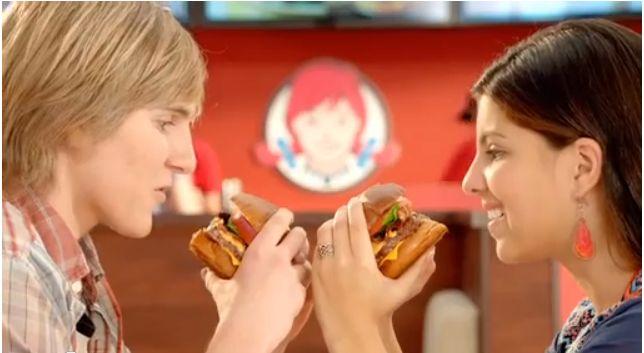 Bilingual, Biracial Couple Romance Over a Pretzel Burger