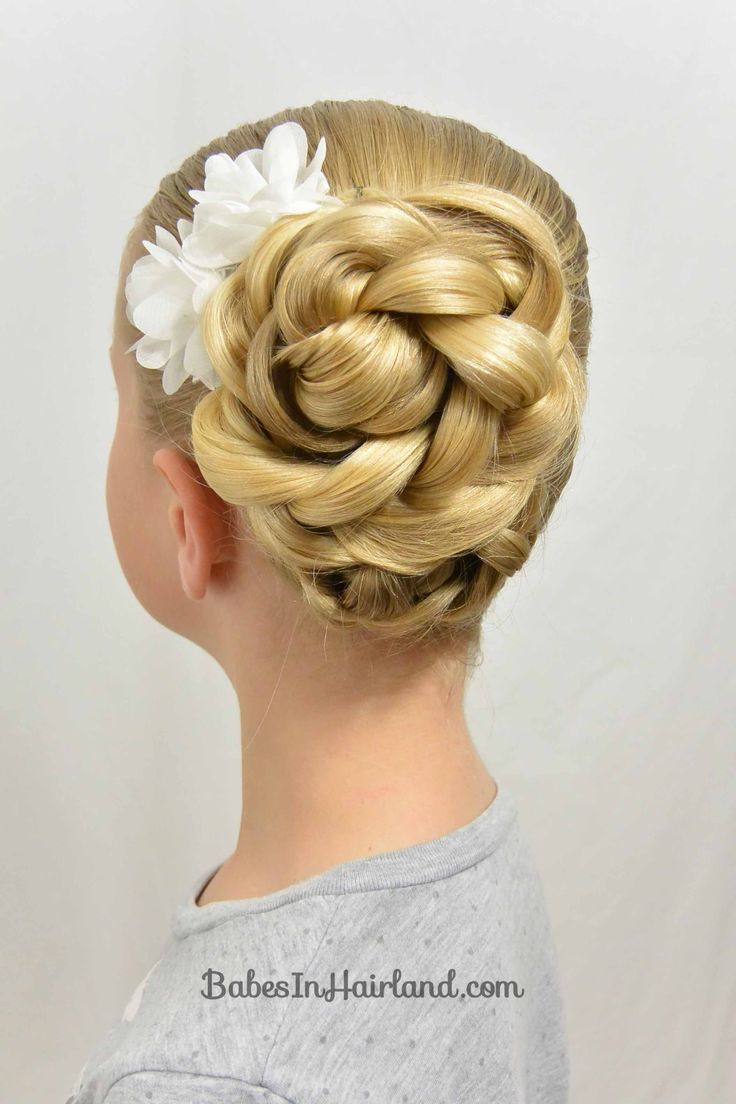 Easy Easter Updo and a Hair Trick - Babes In Hairland