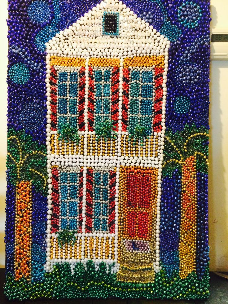 Mardi Gras Art Crafts