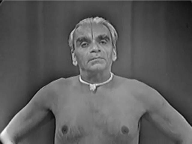 BKS Iyengar - incredible video from 1976, teaching both a little philosophy and a whole lot of asana. WOW! Worth the hour to watch it!