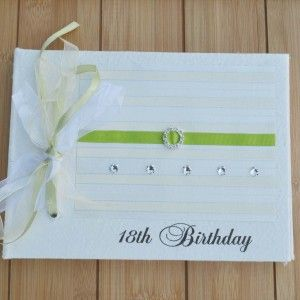 18th Birthday Guest Book by Orchard Bliss