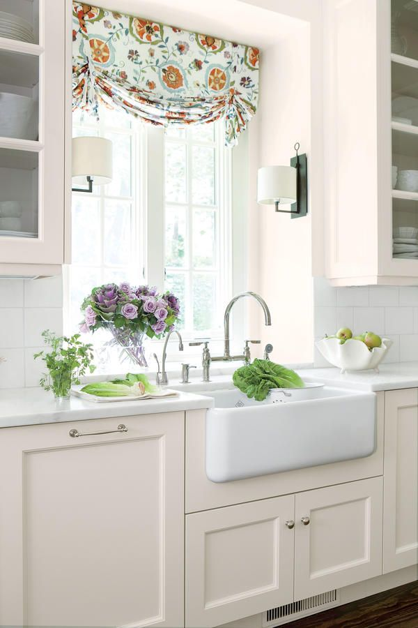 Designed more than 115 years ago, this classic Shaws Original apron-front sink (rohlhome.com) is simple without being boring, and it's extra deep for washing pots and pans.