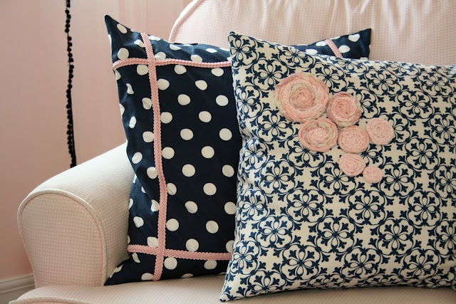 Navy And Pink Decorative Pillows: 14 Best Images About Blush And Navy Wedding Colors On