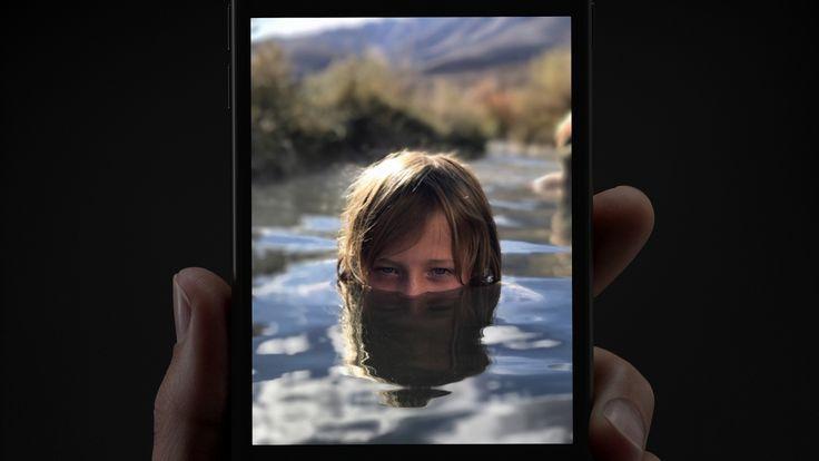 Liked on YouTube: Portrait Mode  iPhone 7 Plus  Creek  Apple
