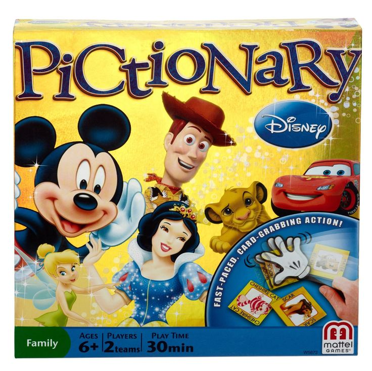 Disney Finds - Disney's Pictionary Board Game