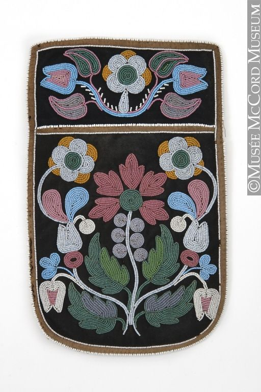 Bag Anonyme - Anonymous Eastern Subarctic or Eastern Woodlands Aboriginal: Eastern Cree or Algonquin 1860-1880, 19th century