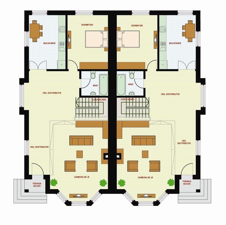 Proiect casa Bianca – Magazinul de Proiecte