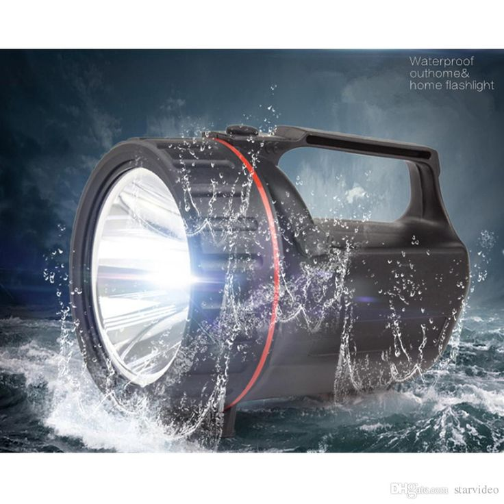 2017 Carola Waterproof Flashlight Rechargeable Led Flashlight Outdoor Long Range Security Patrol Hand Led Searchlight Home Rain Led Torch From Starvideo, $16.09 | Dhgate.Com