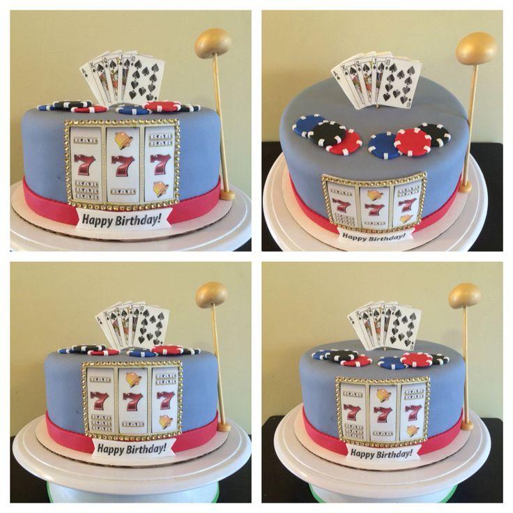 slot machine cake ideas