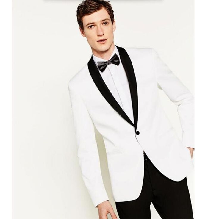 >> Click to Buy << Blazer Men Shawl Collar Men's Suit Jacket Handsome A For Grain Of Buckle Leisure The Groom's Best Man Wedding Guests Dresses  #Affiliate