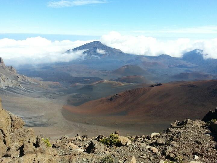 Haleakala Crater - 10, 000 feet up, Maui