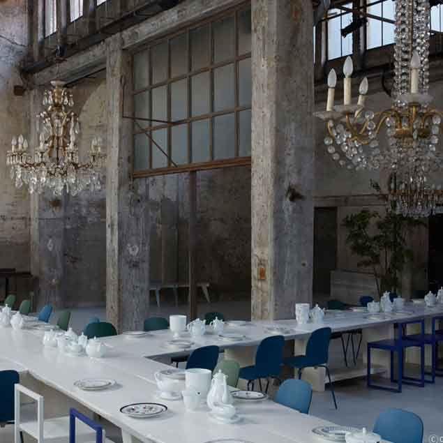Carlo E Camilla In Segheria, Milano. Haute Cuisine Served In A Defunct  Sawmill.