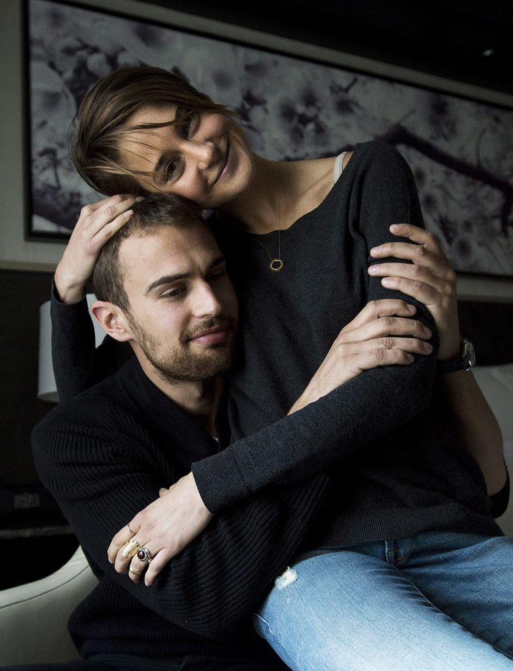 Theo James And Shailene Woodley Hd Images 3 HD Wallpapers