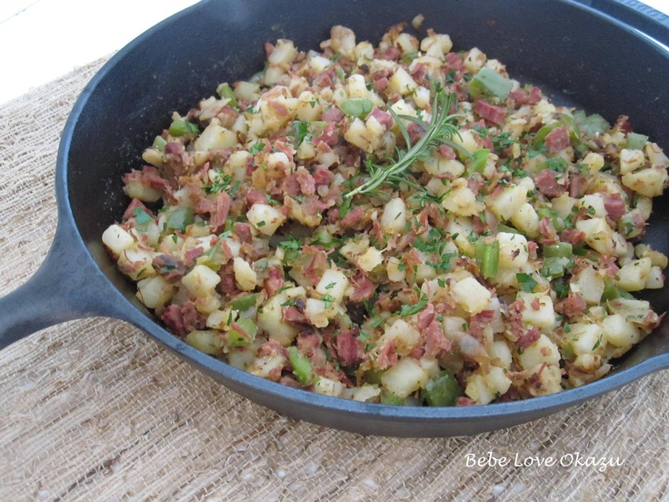 Homemade Corned Beef Hash | Food for thought! | Pinterest