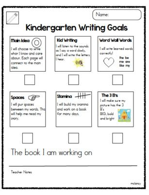 Joyful Learning In KC: Writing, Math and Reading Goals