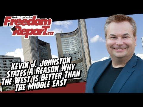 Why The West Is Better Than The Middle East by Kevin J Johnston