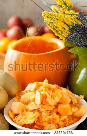 #pumpkin #food #orange #vegetarian #Shutterstock