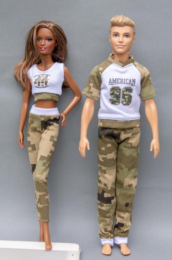 ee37aa5d998e Ken doll clothes - Ken pants and Ken top