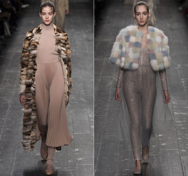 Шубы: зимние тенденции 2016 года от Valentino 3