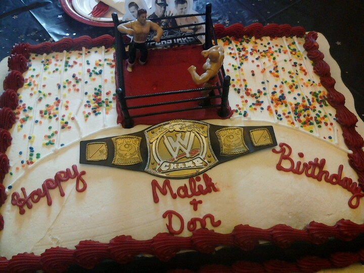 Wwe Cakes From Walmart