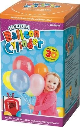 Bouteille d'helium - 30 ballons