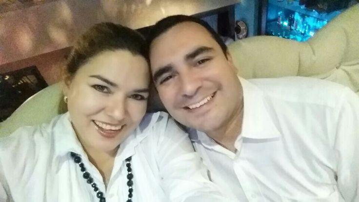 Con Sandra en La Patrona
