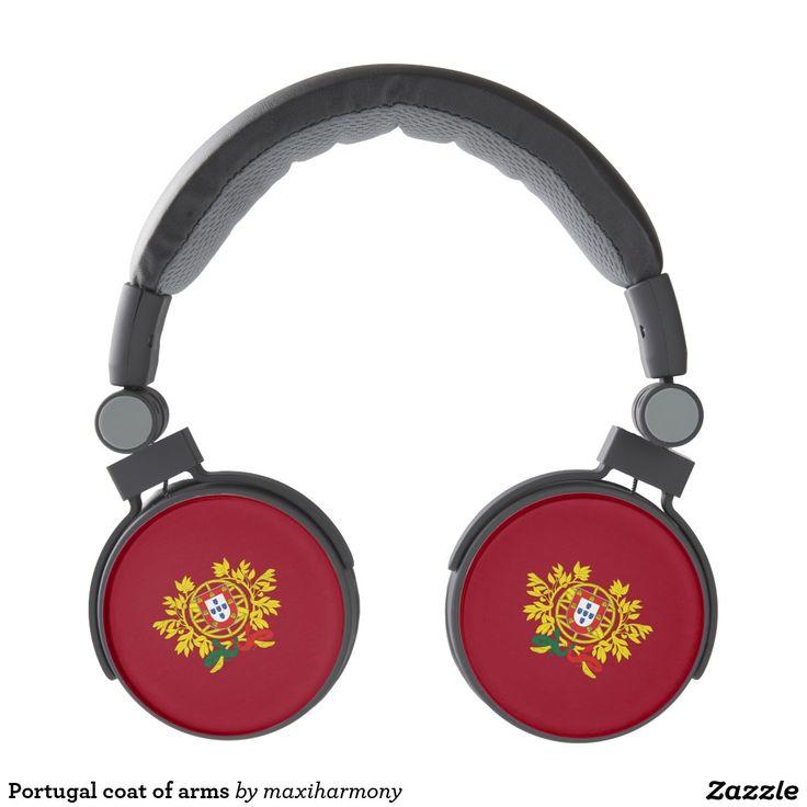 Portugal coat of arms headphones